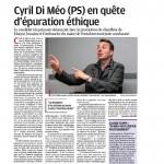 La Provence : Cyril Di Méo pour un choc éthique