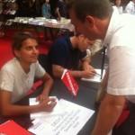 Rencontre avec  Najat Vallaud Belkacem