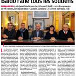 La Provence : Baldo rafle tous les soutiens
