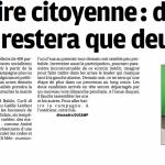 La Provence : Primaire citoyenne : demain il n'en restera que deux
