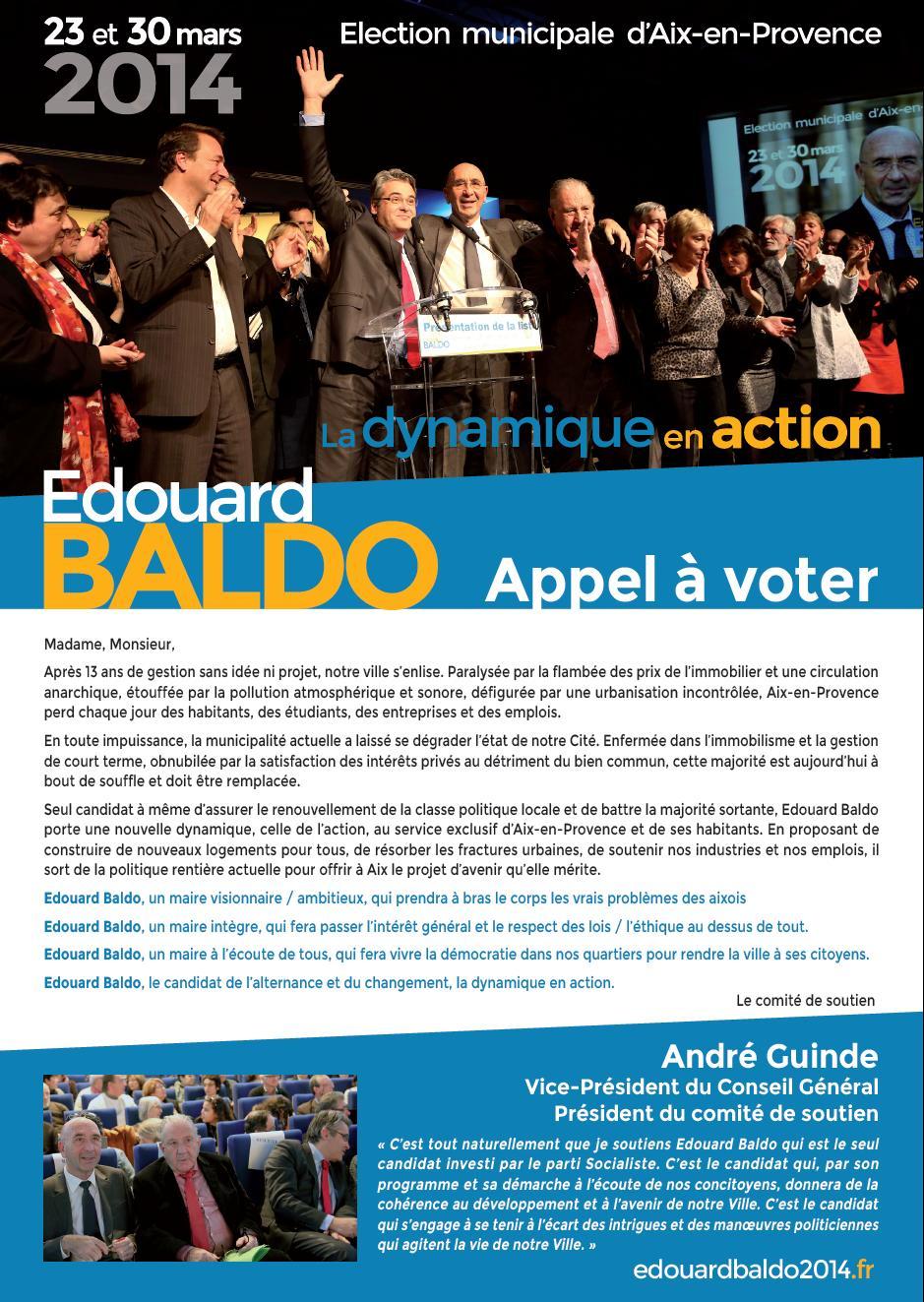 appel à voter 1