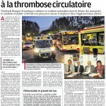 Lutter contre la thrombose circulatoire