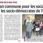 Visite du camp des Milles avec Alain Chouraqui et nos camarades du SPD