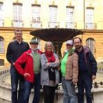 Visite de nos camarades du SPD à Aix