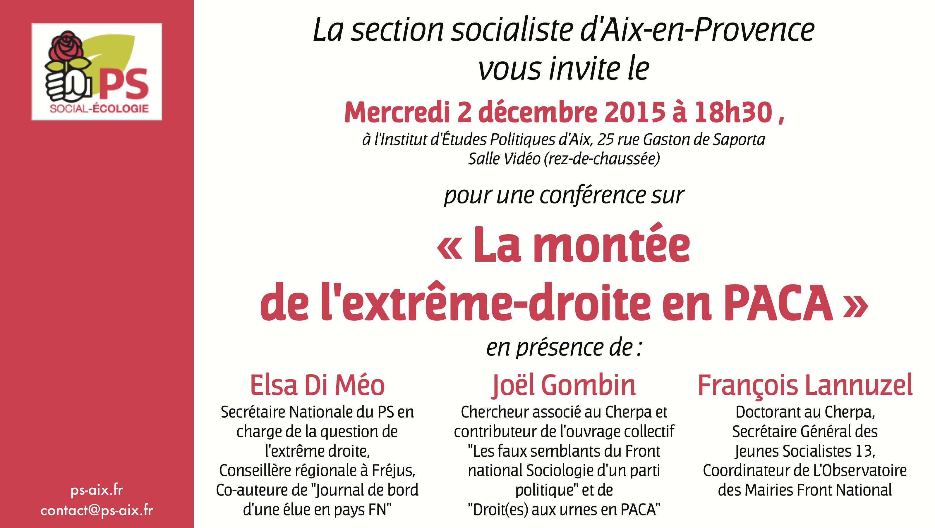 2 decembre Extreme droite en PACA
