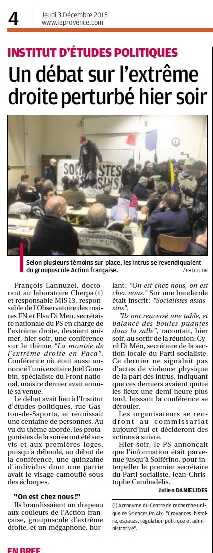 Provence AF 2 dec