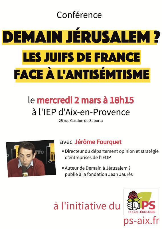 2 mars antisémitisme en France