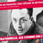 Aix fraternelle : Albert Camus