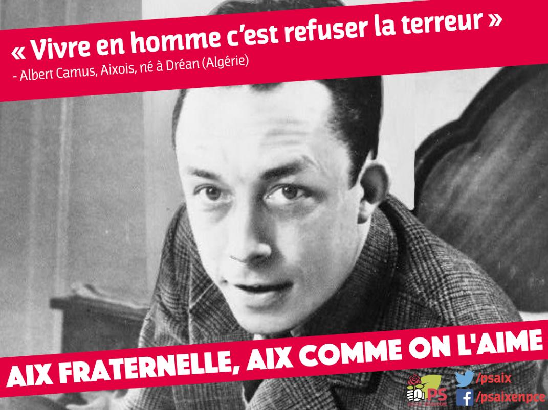Camus aix fraternelle