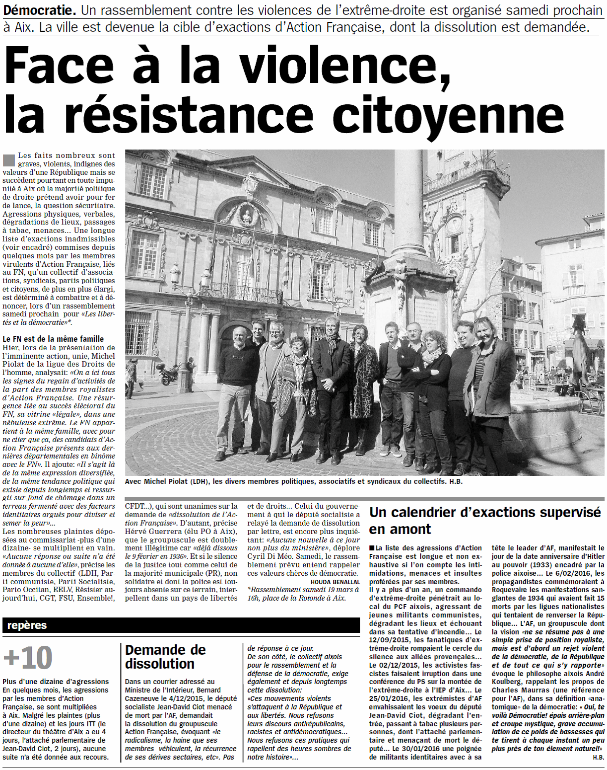 Marseillaise 19 mars