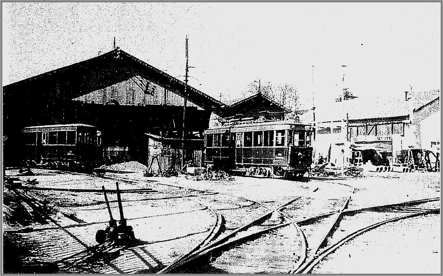 tram pont arc