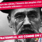 Aix fraternelle : Emile Zola