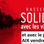 Rassemblement Vendredi 16 décembre 18 heures Place de l'Hôtel de Ville d'Aix