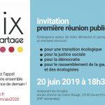 Réunion publique le Jeudi 20 juin à 18h30