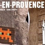 INVADER in Aix en Provence