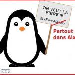 On veut la fibre sur Aix