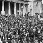 Manifestation à Aix en 1936