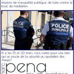 Redéfinir les missions de la police municipale