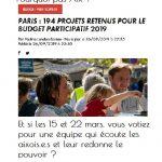 Pour des budgets participatifs