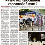 Mort annoncée de Pays d'Aix association
