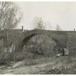 Le pont des Trois Sautets… avant