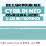 Terme Démission : Intervention a conseil municipal du 16 décembre (Vidéo)