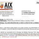 La mairie d'Aix en Provence s'invente un schéma directeur vélo qui n'existe pas. (Vidéo)