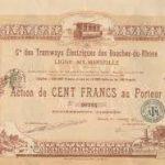 La compagnie des tramways électriques des Bouches du Rhône