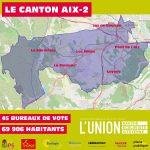 Pierre Spano et Eva Talha : l'Union de la gauche et des écologistes dans le canton Aix 2