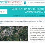 Contribution à l'enquête publique concernant l'extension urbaine de la Zac Barida.